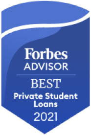 Forbes Best Private Student Loans 2021 award