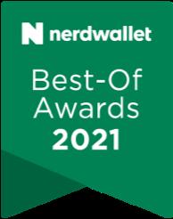 Nerdwallet Best-Of Awards for college loans 2021