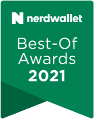 Nerdwalleter Best-Of Awards for college loans 2021