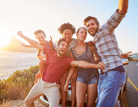 bigstock-Group-Of-Friends-Standing-By-C-90001439