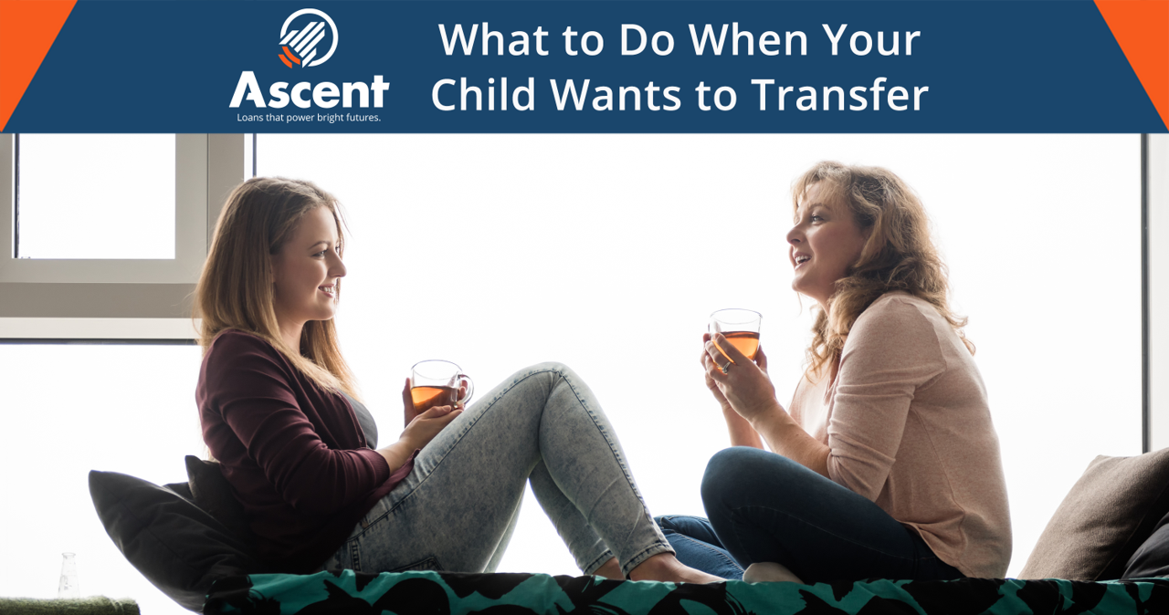 What to do when your child wants to transfer