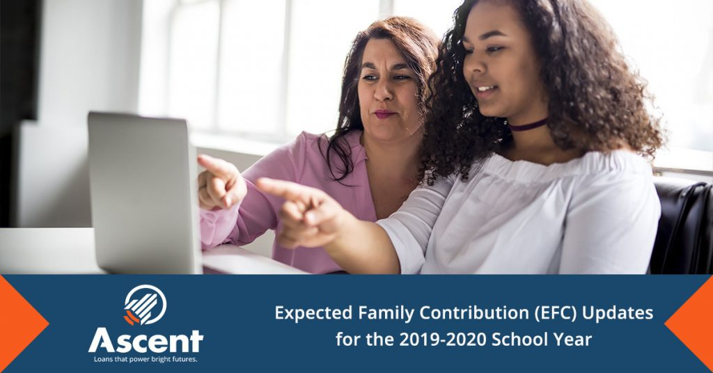 Expected Family Contribution (EFC) Updates for the 2019-2020 School Year