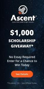 Ascent Monthly Scholarship