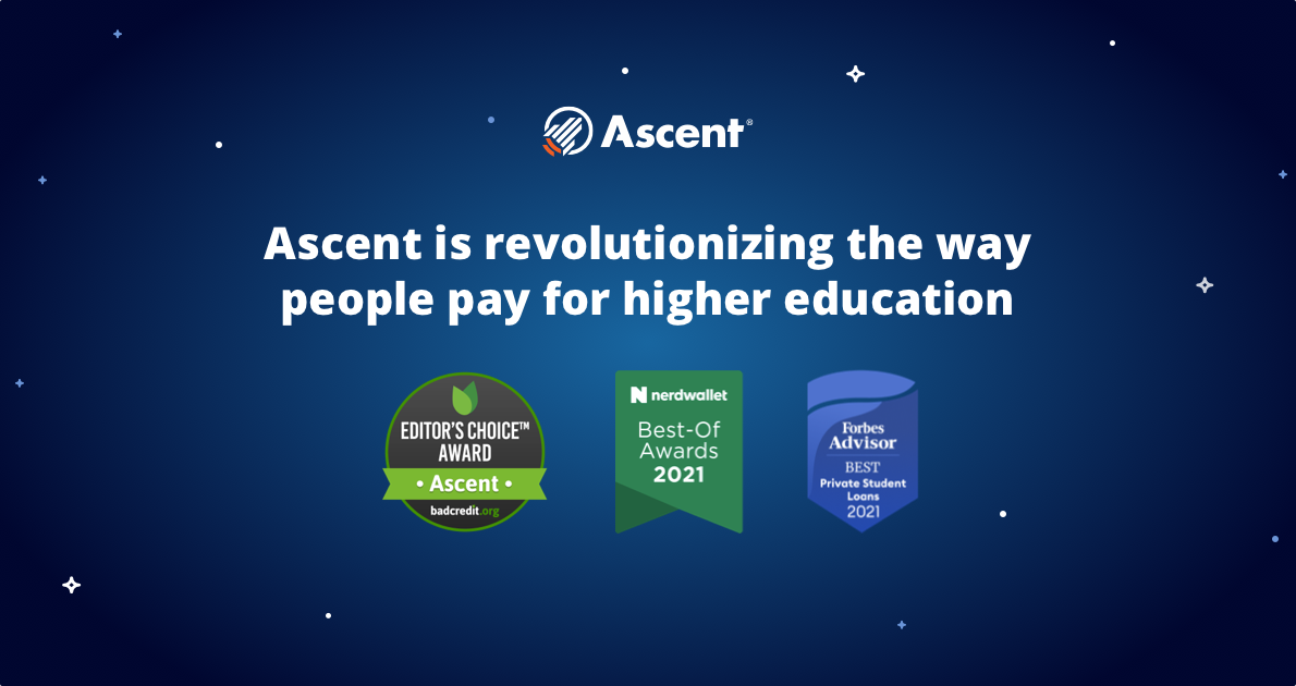 Link to blog post: Ascent Named Best Private Student Loan for 2021