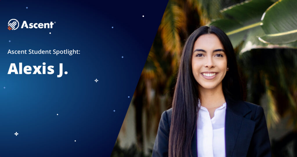Ascent Student Spotlight | Alexis Juarez