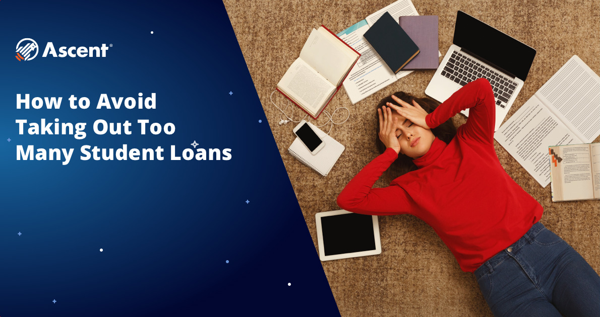 Link to blog post: How Much Student Loan Debt is Too Much? 5 Ways to Avoid Overborrowing
