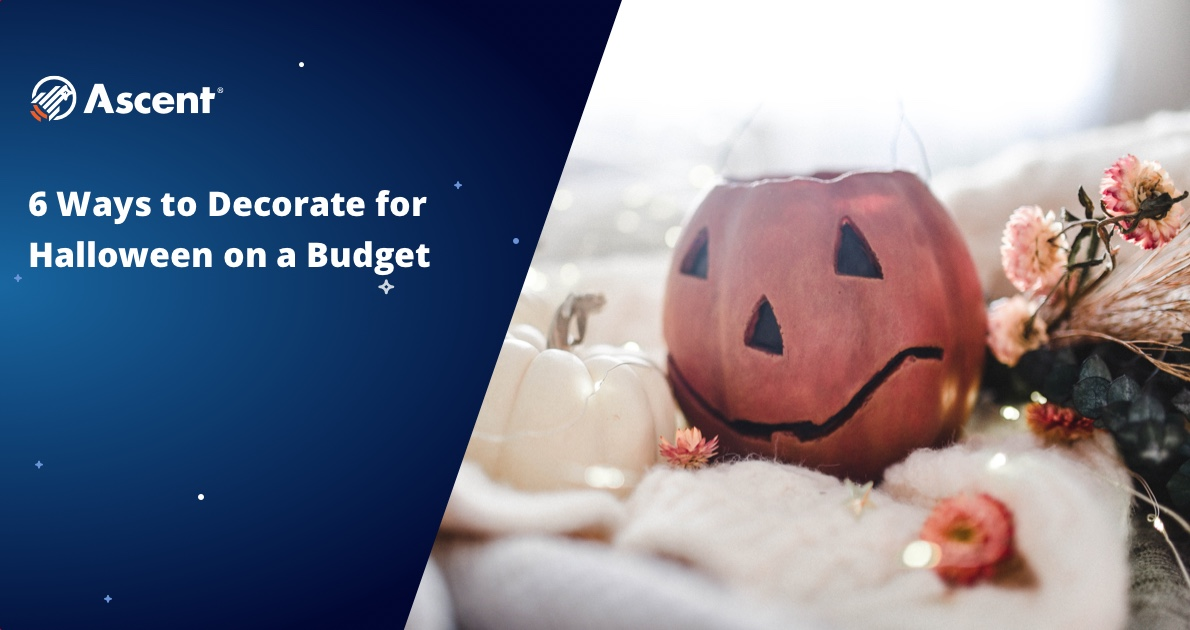 Link to blog post: How to Decorate Your Space For Halloween On A Budget